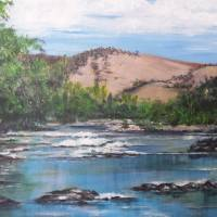 Uriarra Crossing, ACT. Australia Art Prints & Posters by Angela Gannicott