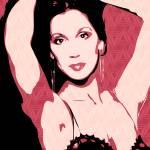 """Cher   Pop Art"" by wcsmack"