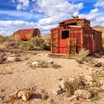"""Old Caboose At Rhyolite"" by jameseddy"