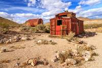 Old Caboose At Rhyolite