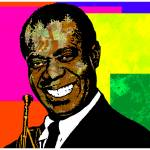 """""""Louis Armstrong"""" by thegriffinpassant"""
