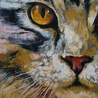 Maine Coon Art Prints & Posters by Michael Creese