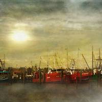 Docked Art Prints & Posters by John Rivera