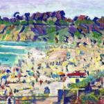 """Del Mar Beach - San Diego California"" by BeaconArtWorksCorporation"