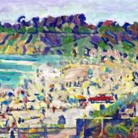 Del Mar Beach - San Diego California Art Prints & Posters by RD Riccoboni