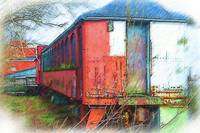 The Red Railroad Car