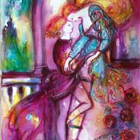 ROMEO AND JULIET Art Prints & Posters by Bulgan Lumini