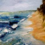 """Whitecaps On Lake Michigan 3.0"" by Michelle1991"