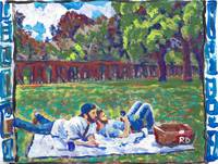 Picnic Gay couple