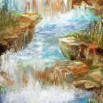 """Meditation Falls"" by AlmaLee"