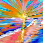 """""""Art for Health and Life. Painting 5. ENERGY of  LI"""" by SanaKiy"""