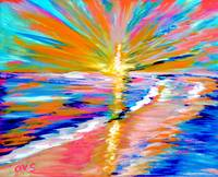 Art for Health and Life. Painting 5. ENERGY of  LI