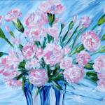 """""""Bouquet of Carnations. Thank You collection"""" by SanaKiy"""
