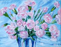 Bouquet of Carnations. Thank You collection