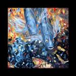 """Two Koi Fish. Painting"" by SanaKiy"
