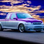 """1997 Ford F150 Custom Pickup"" by FatKatPhotography"