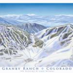 """Granby Ranch"" by jamesniehuesmaps"