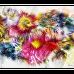 """7d Abstract Expressionism Digital Painting"" by Ricardos"