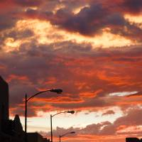 Santa Fe at Dusk, New Mexico Art Prints & Posters by Julia Hiebaum