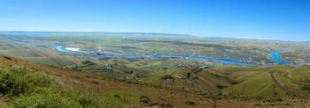 Panoramic View Of Lewiston