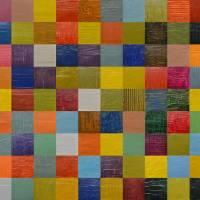 Collage Color Study 108 Art Prints & Posters by Michelle Calkins