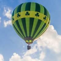 Irish Hot Air Ballooning Art Prints & Posters by Anthony L. Sacco