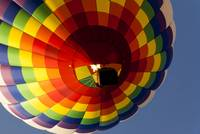 Rainbow Checkered Balloon