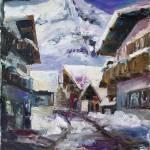 """""""Schattberg, Austrian Alps"""" by BarbaraPommerenke"""