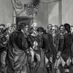 """Washington Parting with his Officers"" by WilshireImages"