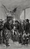 Washington Parting with his Officers