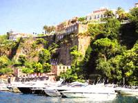 Sorrento Yacht harbour&Cliff Top Cezanne Style