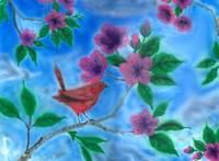Birds and Flowers