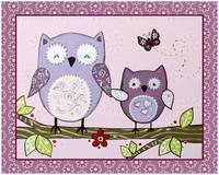 Lavender Woods Series - Owls