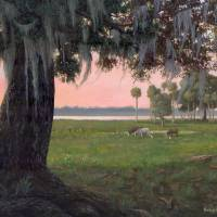 Orange Lake Evinston 16x20 Art Prints & Posters by Robert Wince