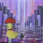 """stroll in the purple rain"" by mkanvinde"