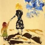 """Stroll by Beach"" by ArtRoger"