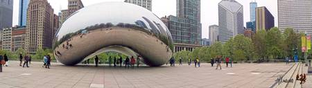 Cloudgate Panoramic signed