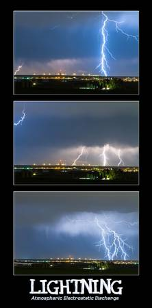 Lightning - Atmospheric Electrostatic Discharge