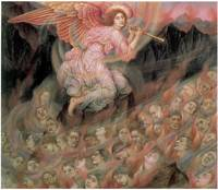 An Angel Piping to the Souls in Hell (c. 1916)