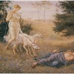 """Diana and Endymion (1883)"" by ArtLoversOnline"