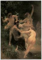 Nymphs and Satyr (1873)
