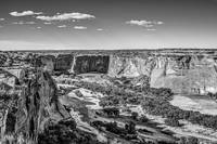 Canyon De Chelly in BW