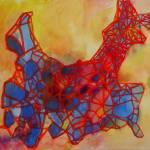 """Loopy Llama"" by LeonSarantosArtist"