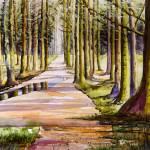 """""""Woodland Glade"""" by ArtCaravan"""
