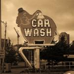 """Seattle - Elephant Car Wash"" by Ffooter"
