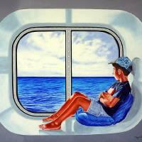 The Traveler 3 - El viajero 3 Art Prints & Posters by Rezzan ERGUVAN-ONAL