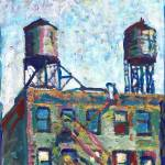 Water Towers New York  by RD Riccoboni