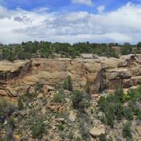 Chapin Mesa Panorama at Mesa Verde Natl Park Art Prints & Posters by JOHN CHAO