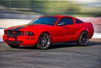 Mustang Muscle 'Seeing Red'