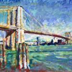 """New York - Brooklyn Bridge Afternoon in the City"" by RDRiccoboni"